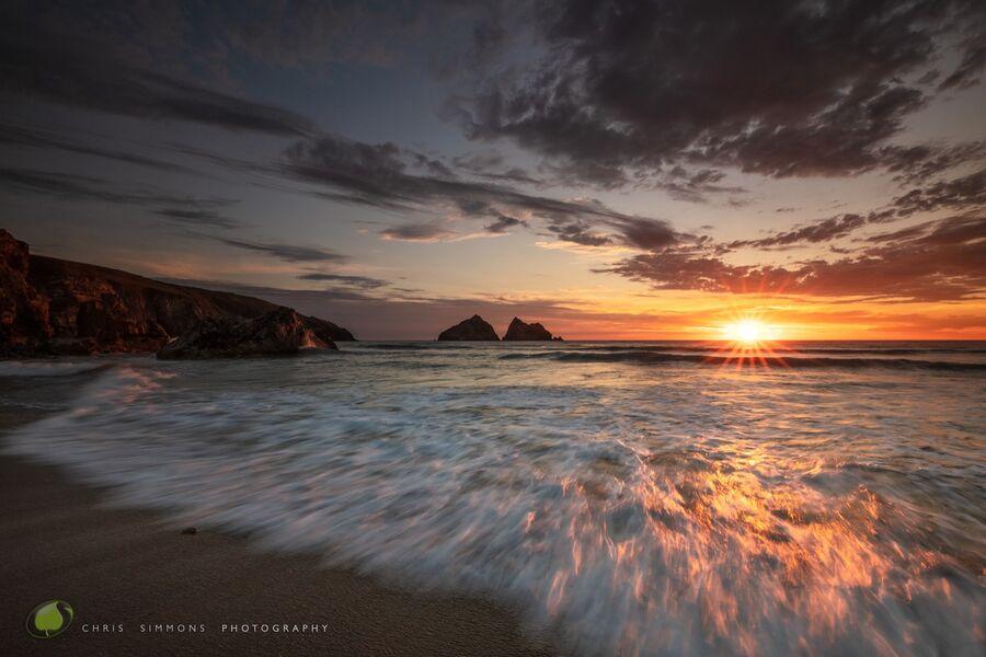 Summer Blaze - Gull Rocks