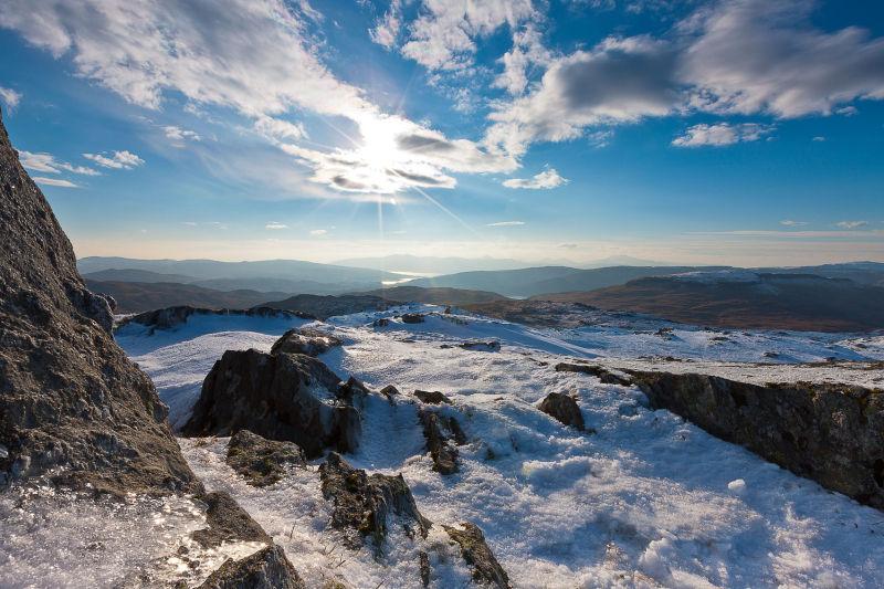 Summit to Loch Aline