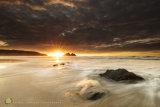 Sunburst Sunset Tideline