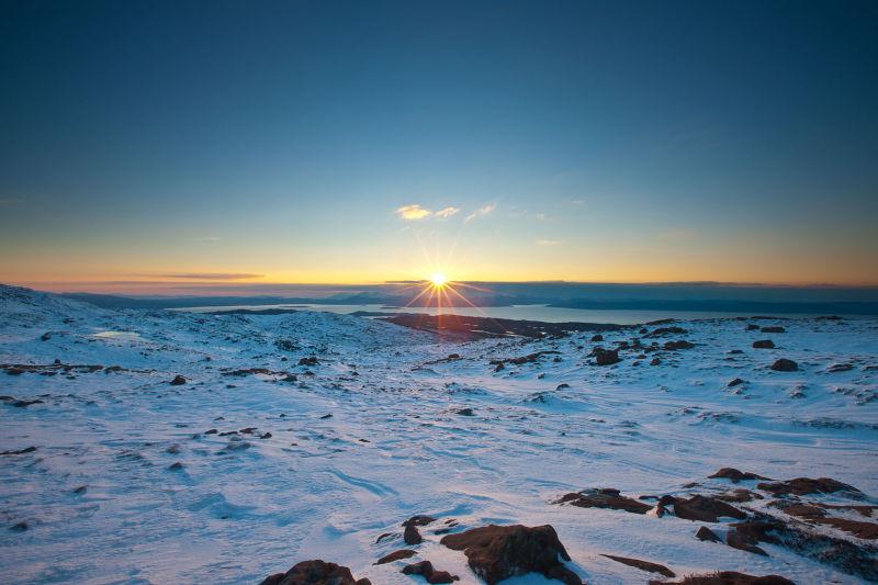 Sunburst over Skye