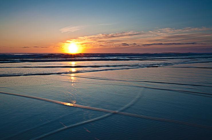 Sunrise Tidelines