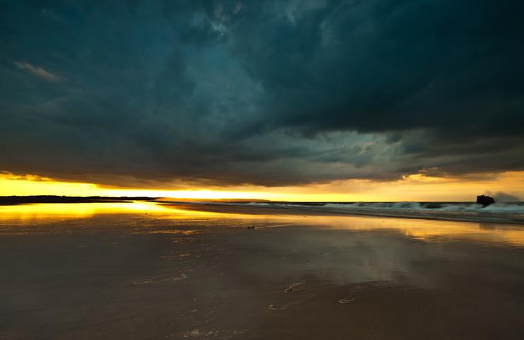 Sunset 1, Northumbria
