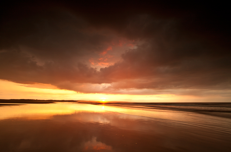 Sunset 6, Northumbria