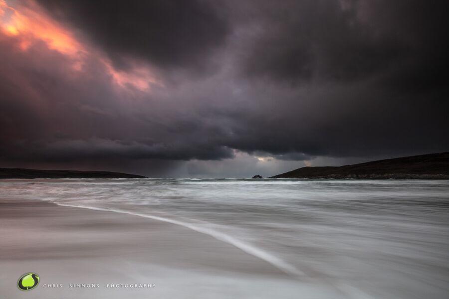 Winter Clouds & Tideline VI