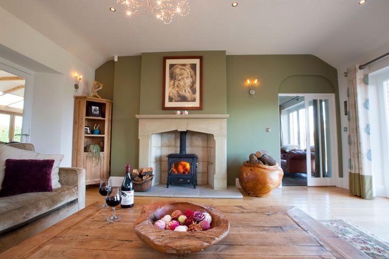 Living room detail