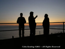 My Siblings...Barney, Jimmy and Dolores - waiting for Sunrise.