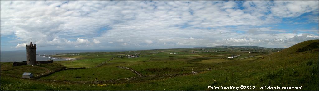 Above Doolin...