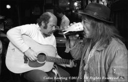 Alan and Kenny in the Brazen Head