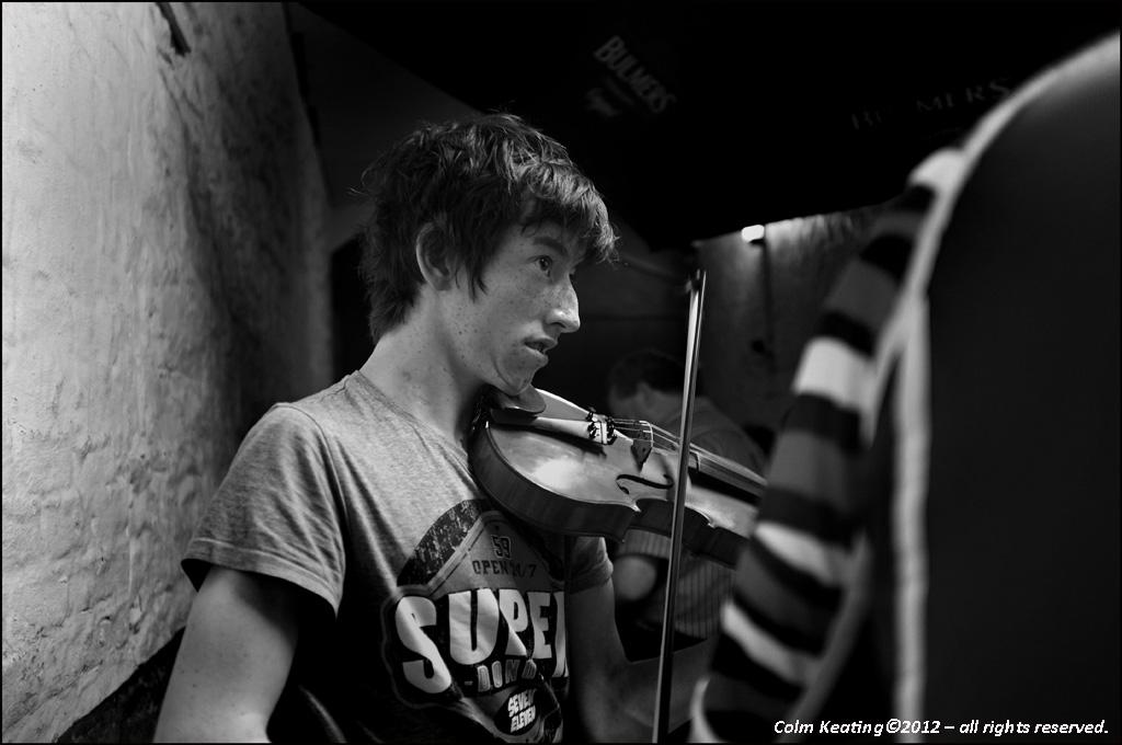 Tadhg Mulligan, Fiddle Player.