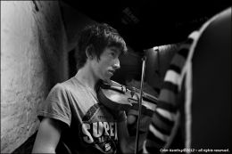 Tadhg Mulligan, Fiddle Player.