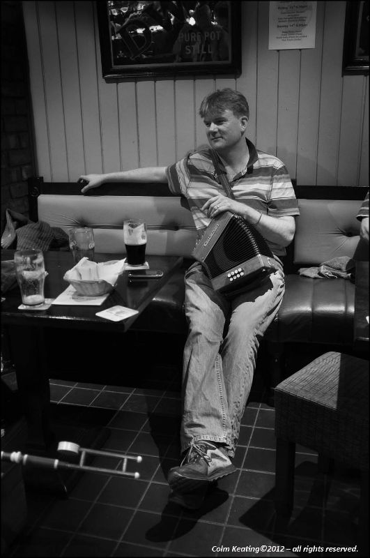 Marathon Man Ray Lawless takes a hard earned rest...