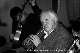 Local Strokestown man, Charlie Cox, at Féile Frank McGann - 2005.