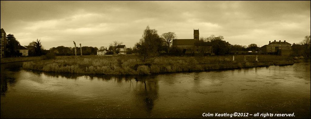 River Fergus, at Ennis Town.