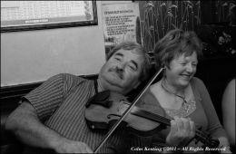Jack Ryan & Caroline O'Rourke, at Féle Frank McGann 2009.