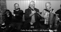 Frank Jordan, Patsy Hanly and Frank Kelly