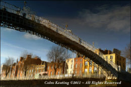 The Ha'penny Bridge, Dublin City
