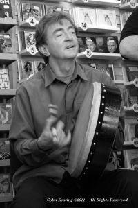 Kevin Coneff - Singer & Bodhrán Player.