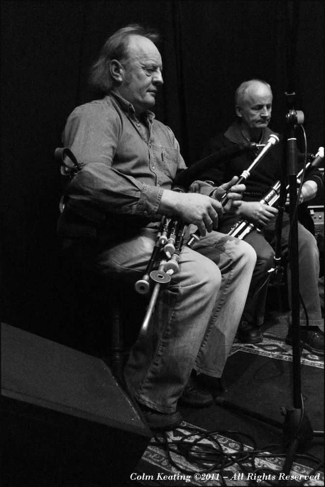 Uilleann Pipers, Leo Rickard and Mickey Dunne
