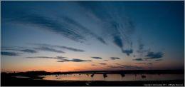 Malahide Estuary at Sunset.