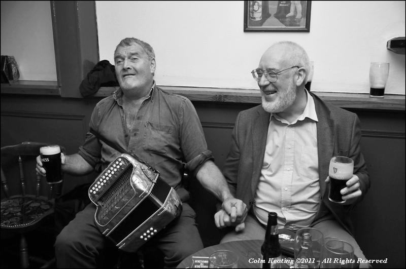Male Bonding...Seamus Begley and Patsy Hanly