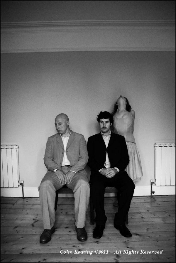 Mick, Pauric & Aoife O'Kelly at home.