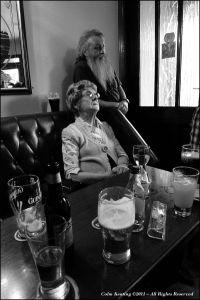 Patsy Lennon and Eddie McNamara, at Féile Frank McGann 2010