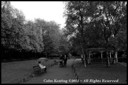 Dublin can be heaven, at a quater-past eleven, with a stroll through Stephen's Green...