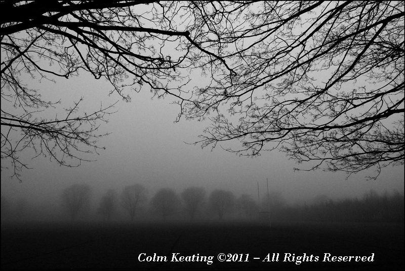 GAA Pitch in Fog - Islandbridge.