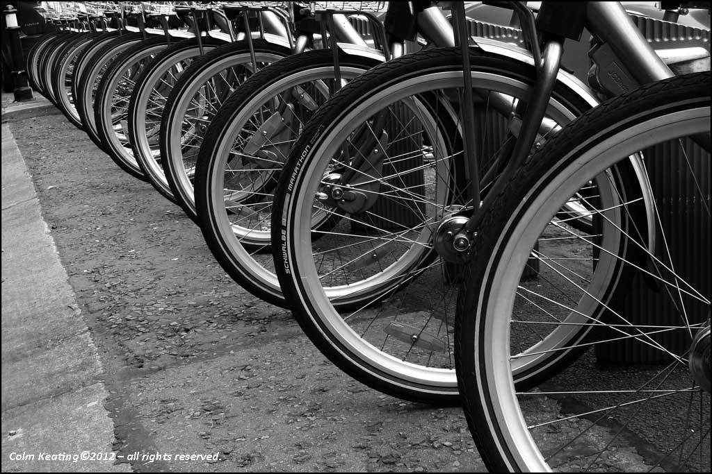 Neat Parking - DCC Bicycle Hire Scheme.
