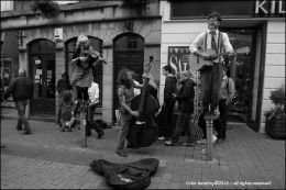 High Pitched Buskers...