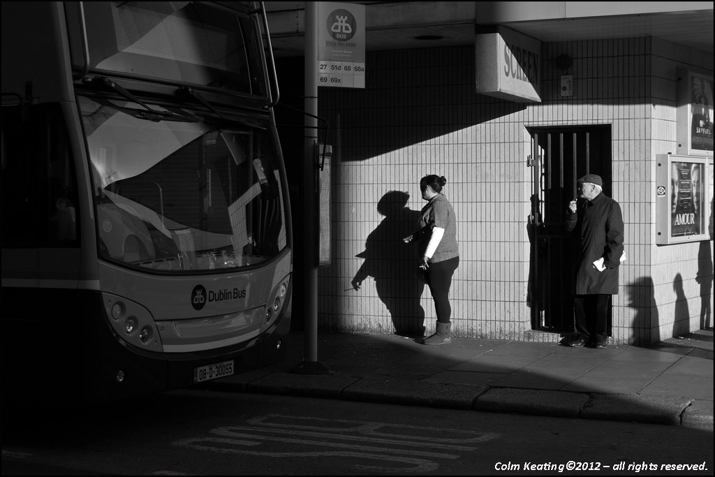 Waiting for the Bus...