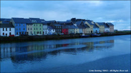 The Long Walk viewed from Claddagh Quay