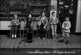 Young Musicians at the Cavan Fleadh, 2010