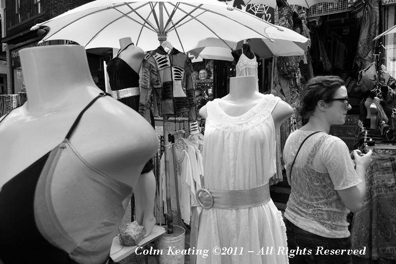 Vintage Clothes Shop, Kensington Market, Toronto.