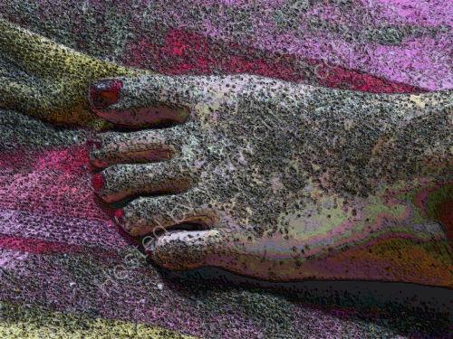 Beach-Wax Foot