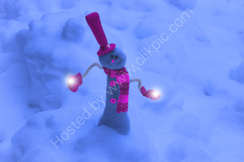 Mr Frosty Lights The Way