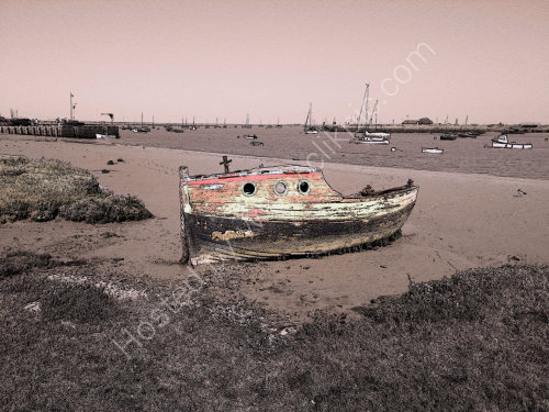 Orford Quay Wreck