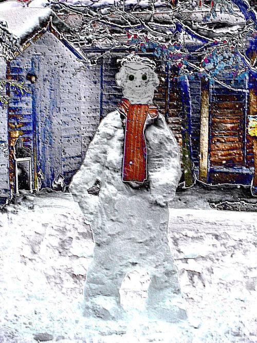 Snow Mannequin