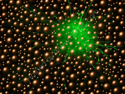 Sparkles and Bubbles Green