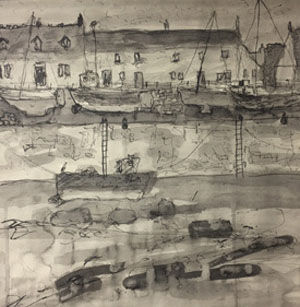 Port Seton Study #1