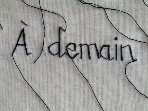 A Demain (Detail 1) (Sweet Nothings Series)