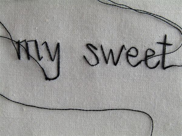 A Demain (Detail 2) (Sweet Nothings Series)