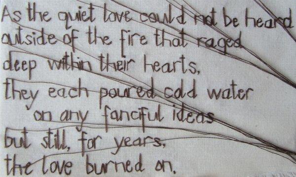 A Quiet Love Study (Detail)