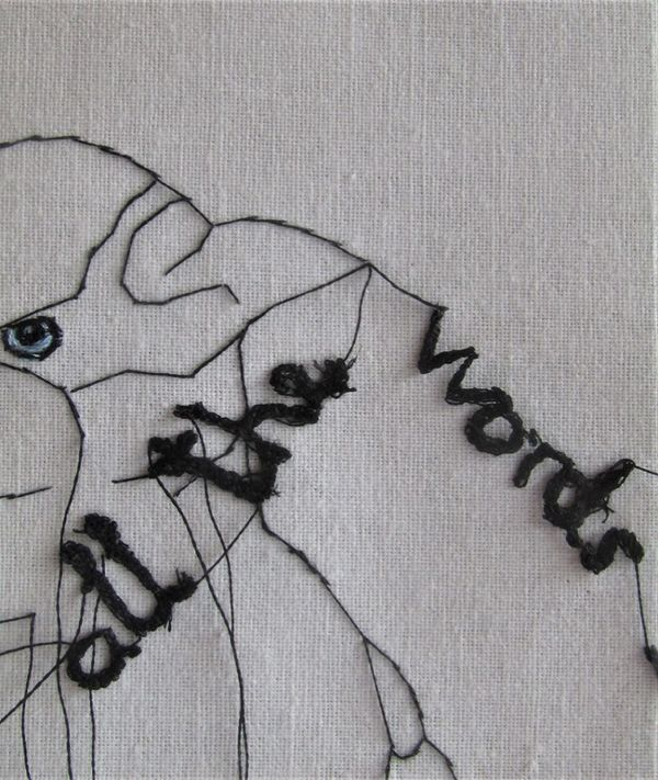 All The Words I Never Said Study (Detail 1)