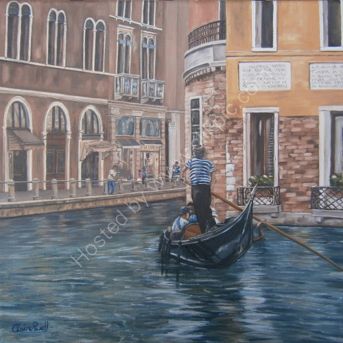 The Gondolier Print