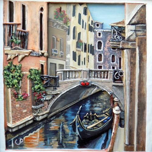 Venice in clay