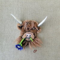 Wool and Acrylic Paintings of your favourite animal