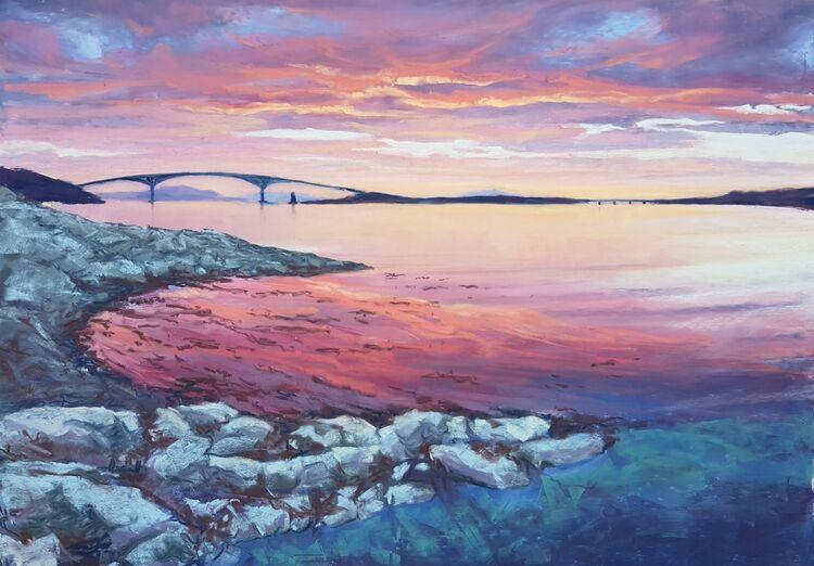 Midsummer Sunset, The Skye Bridge
