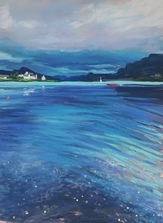 Plockton in blue