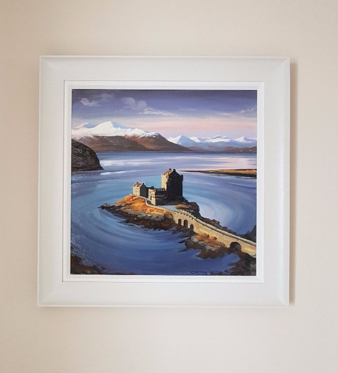 Winters morning, Eilean Donan Castle